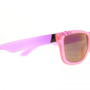 1604229 Womens Two Color Bling Sunglasses, Pink, Purple & Hot Pink