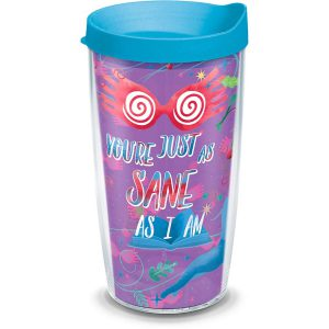193355014447 Harry Potter Luna Quote 16 oz Tumbler with Lid