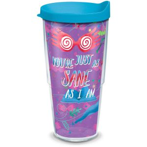 193355014454 Harry Potter Luna Quote 24 oz Tumbler with Lid