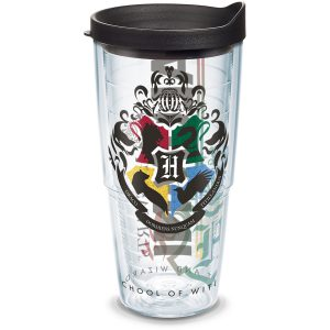 193355014492 Harry Potter Hogwarts Alumni 24 oz Tumbler with Lid