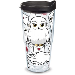 193355017189 Harry Potter Hedwig 24 oz Tumbler with Lid