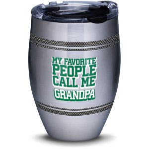 193355022435 Grandpa Favorite 12 oz Stainless Steel Tumbler with Lid
