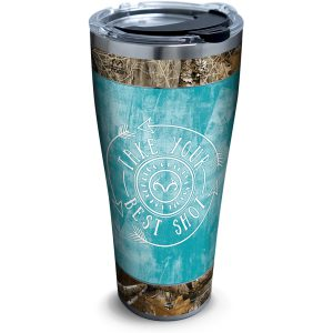 193355033912 Realtree Best Shot 30 oz Stainless Steel Tumbler with Lid