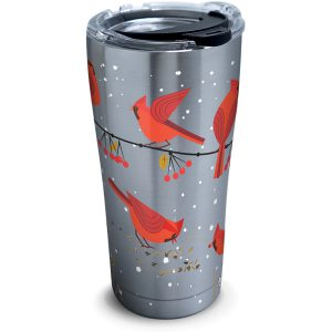 193355035893 Cardinals 20 oz Stainless Steel Tumbler with Lid