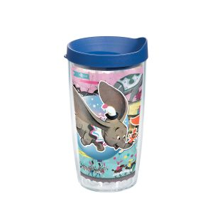 193355042105 Disney Dumbo Circus 16 oz Tumbler with Lid