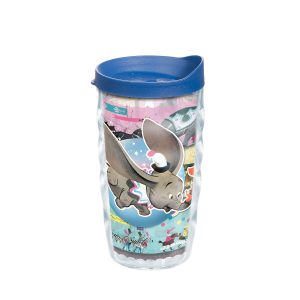 193355042259 Disney Dumbo Circus 10 oz Wavy Tumbler with Lid