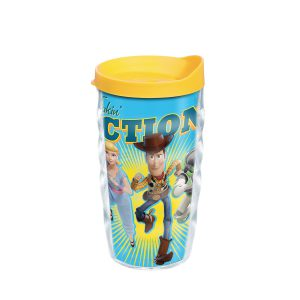193355045168 Disney & Pixar Toy Story 4 Take Action 10 oz Wavy Tumbler with Lid