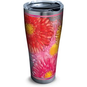 193355051275 Colossal Daisy 30 oz Stainless Steel Tumbler with Lid