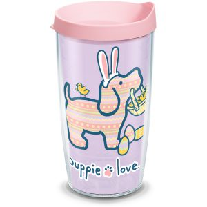 193355058205 Puppie Love Easter 16 oz Tumbler with Lid
