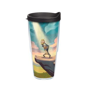 193355064725 Disney Lion King Pride Rock 24 oz Tumbler with Lid
