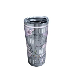 193355081791 Disney Little Mermaid Find Your Voice 20 oz Stainless Steel Tumbler with Lid
