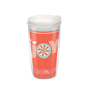193355122395 Christmas Joy 16 oz Tumbler with Lid