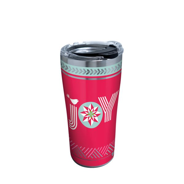 193355122456 Christmas Joy 20 oz Stainless Steel Tumbler with Lid