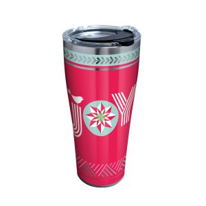 193355134305 Christmas Joy 30 oz Stainless Steel Tumbler with Lid