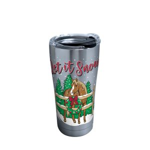 193355137139 Simply Southern Christmas Horse 20 oz Stainless Steel Tumbler with Lid