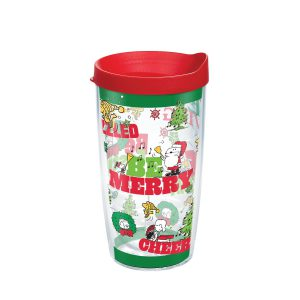 193355138938 Peanuts Holiday 2019 16 oz Tumbler with Lid