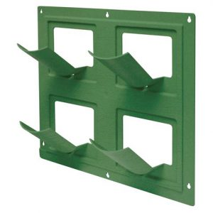 2491-1 Wall Flower Vertical Garden Planting System - Green