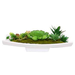 297-TB811 Artificial Succulent Garden in Planter