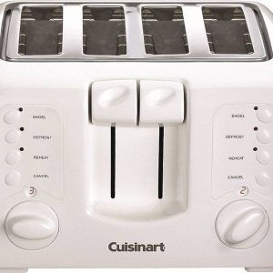 3569266 Compact Electric Toaster, 4 Slice, 850 watt, 120V