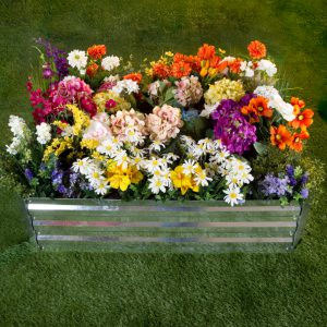 50-196 Raised Garden Bed Plant Holder Kit - 35.5 in.L x 47.5 x 12 in.
