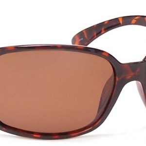 680562076264 P-57 Polarized Polycarbonate Sunglasses, Tortoise & Brown