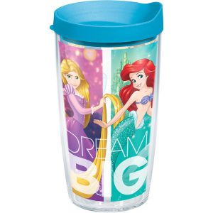888633339724 Disney Dream Big Princess Group 16 oz Tumbler with Lid