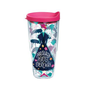 888633978343 Disney Mary Poppins Returns 24 oz Tumbler with Lid