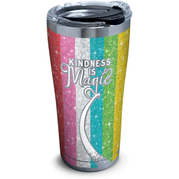 888633994855 Kindness is Magic 20 oz Stainless Steel Tumbler with Lid