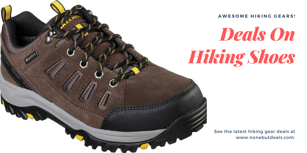 Amazing Deals On Hiking Shoes For Men