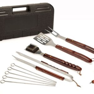 CGS-W18 Wooden Handle Grilling Set, 2