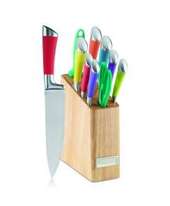Conair-Cuisinart 4U1415 Metalic Cuttlery Set - Multicolor, 12 Piece Set