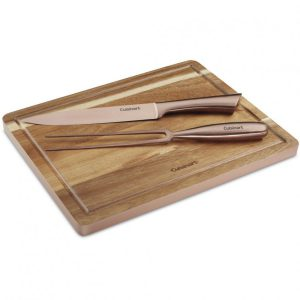 Conair-Cuisinart C77SSCS-3P Rose Gold Carving Set, 3 Pieces