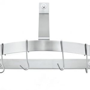 Conair-Cuisinart TB6020 Half Circle Wall Rack - Brushed Stainless