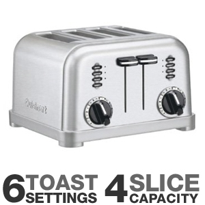 Corporation CPT180 Classic Metal Toaster