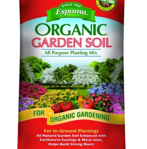 Espoma Organic Garden Soil All Purpose Planting Mix 1 Cubic Foot APGS1