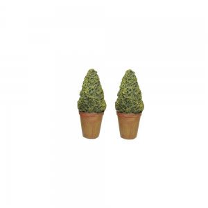 Fairy Garden Outdoor Decor - Tree In Planter 2 Piece Set