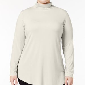 Jm Collection Plus Size Turtleneck Top, Created for Macy's