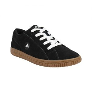 Men's Airwalk The One Skate Shoe, Size: 8 M, Gum Black/White Suede