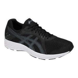 Men's Asics Jolt 2 Sneaker, Size: 14 4E, Black/Steel Grey