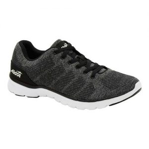 Men's Avia AVI-Rift Sneaker, Size: 10 M, Black/Iron Grey/White