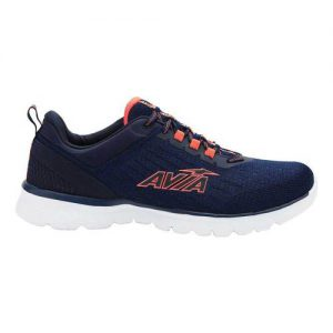 Men's Avia Avi-Factor Running Sneaker, Size: 9.5 M, Peacoat/Shocking Orange/Bright White