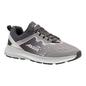 Men's Avia Avi-Maze Running Sneaker, Size: 11 M, Silver Filigree/Nine Iron/Metallic Silver