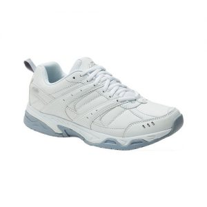 Men's Avia Avi-Union ll Sneaker, Size: 10 4E, White/Chrome Silver