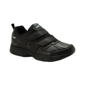 Men's Avia Avi-Union ll Strap Sneaker, Size: 7 M, Black/Iron Grey