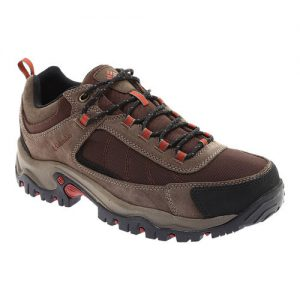 Men's Columbia Granite Ridge Waterproof Hiking Shoe, Size: 9.5 M, Cordovan/Rusty