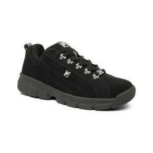 Men's Fila Exchange 2K10, Size: 13 M, Black/Black/Metallic Silver