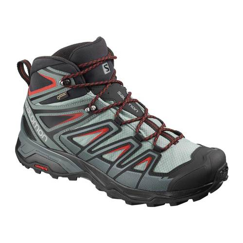 Men's Salomon X Ultra 3 Mid Gor-Tex Hiking Shoe, Size: 8 M, Lead