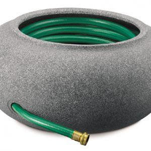 Myers-itml-akro Mils 21in. Granite Garden Hose Pot & Planter RZ.GH210G21