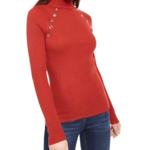 Planet Gold Juniors' Turtleneck Sweater