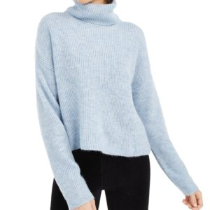 Sun + Moon Boxy Turtleneck Sweater